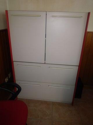 armario oficina con archivador