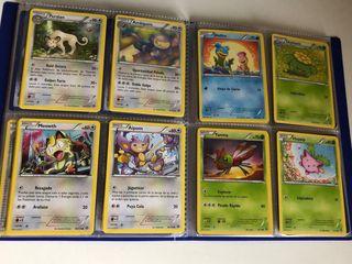 Lote de 596 cartas originales de Pokemon