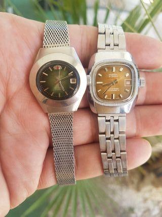 relojes Hudson y orient