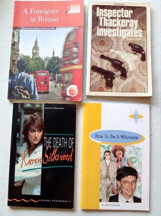 Libros de lectura en inglés.