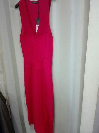vestido rojo fresa Marciano L.A.