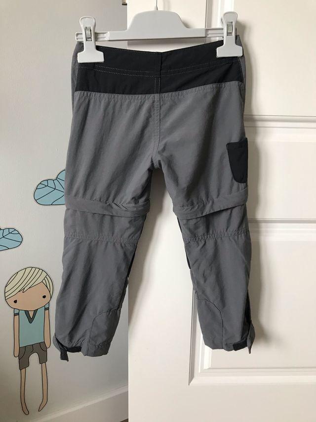 Pantalón monte niño talla 3-4