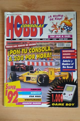 HOBBY CONSOLAS Nº 4 Año 1992