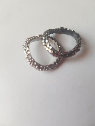 dos anillos acero