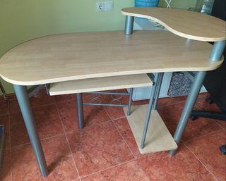 mesa escritorio, ordenador