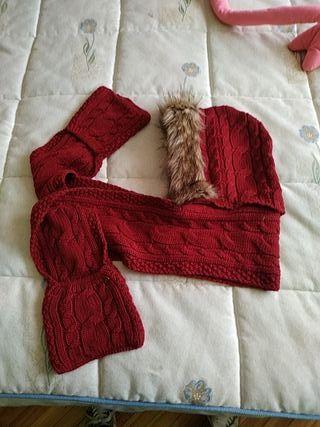 gorro- bufanda