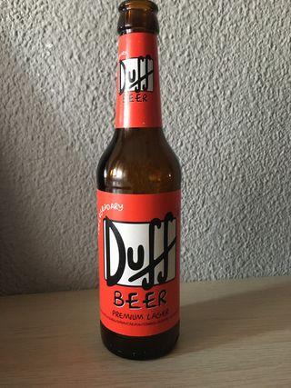Botellín Duff Beer
