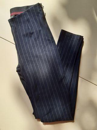 Pantalones de rayas mujer