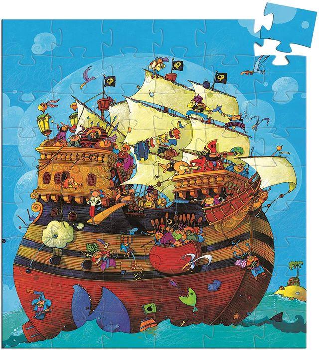 Puzle pirata barbarroja DJECO