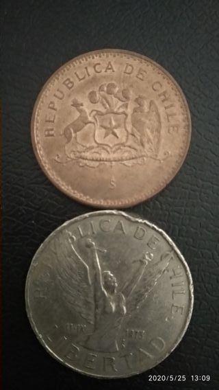 monedas de Chile