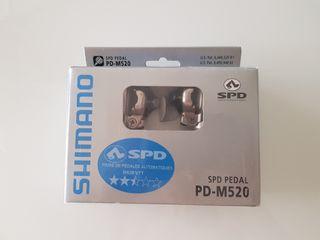 Pedales automáticos MTB Shimano
