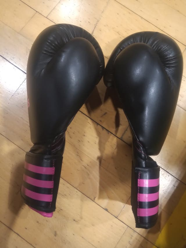 Guantes Boxeo Adidas gama alta.