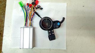 CONTROLADOR + PANTALLA PATINETE ELECTRICO 36V 250W