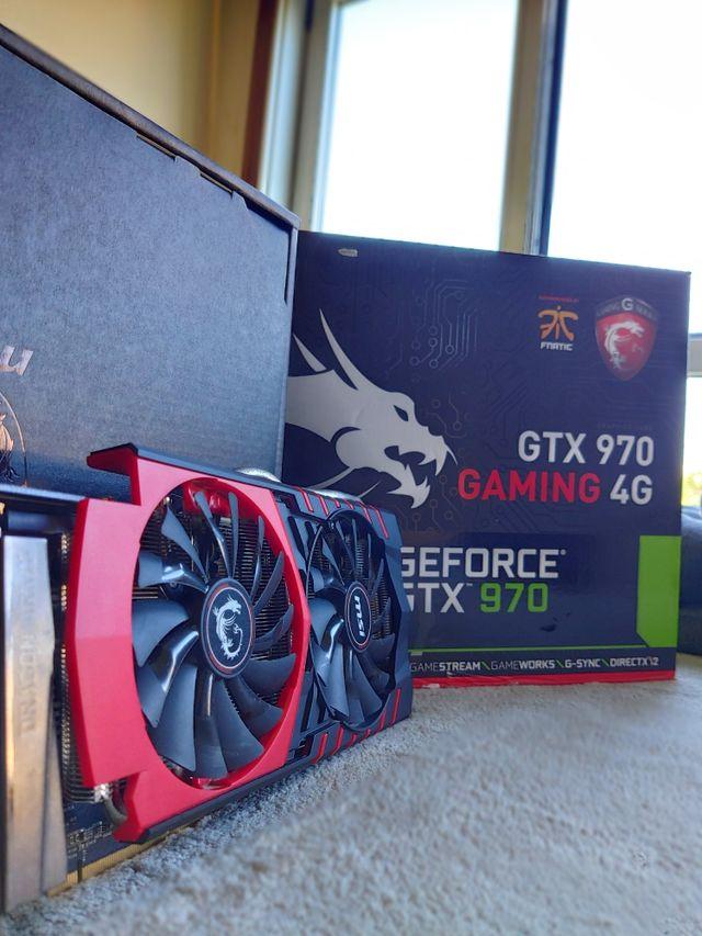 SLI 2X GTX 970 MSI 4GB NVIDIA