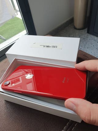 IPHONE XR ROJO 128 GB libre red