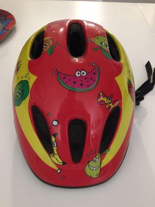 Casco bici infantil