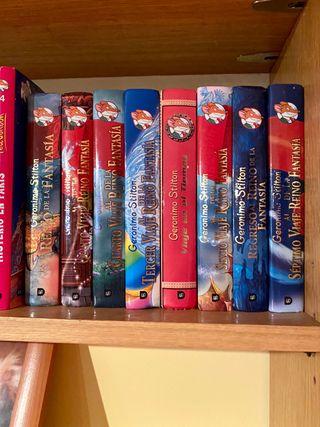 Colección Libros Gerónimo Stilton