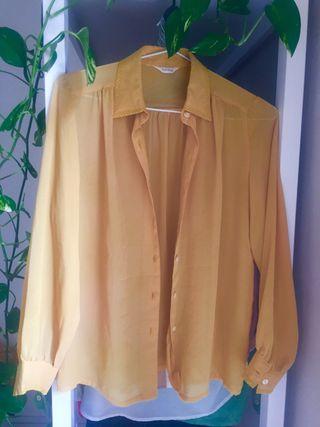 Camisa vintage amarilla