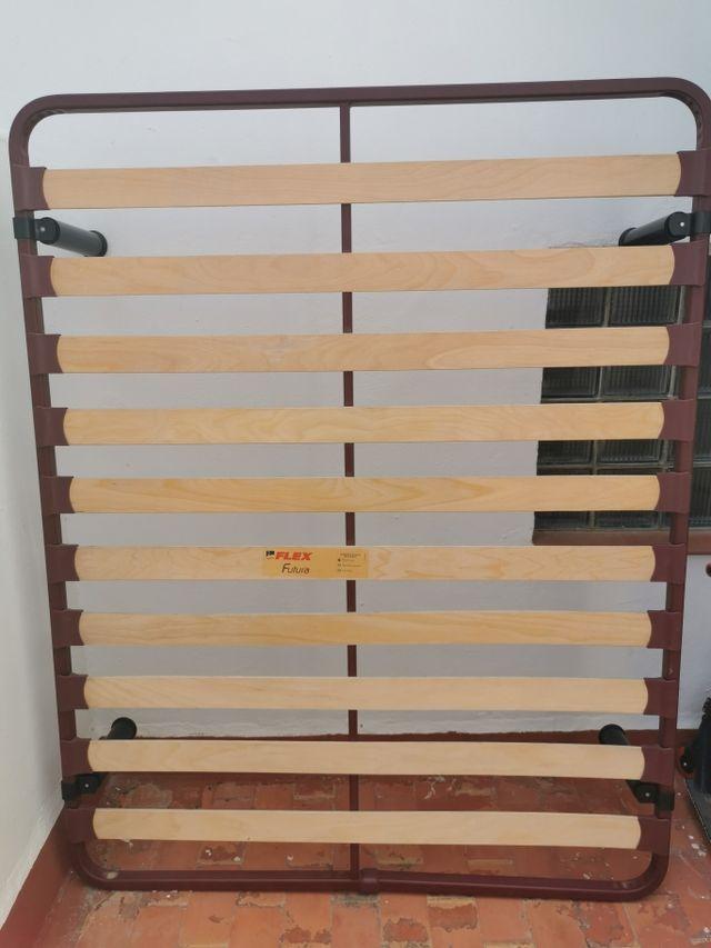 somier de bandas de madera