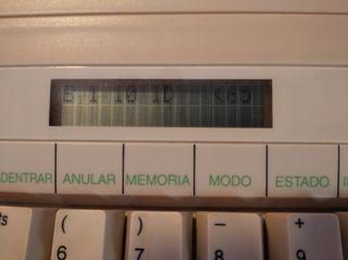 vendo máquina de escribir eléctrica