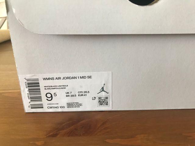 WMNS Air Jordan 1 Mid SE Talla 41