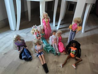 Lote muñeca Barbie original
