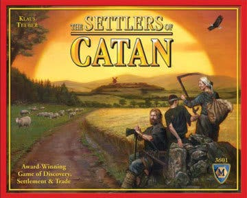Settlers of Cattan boardgame