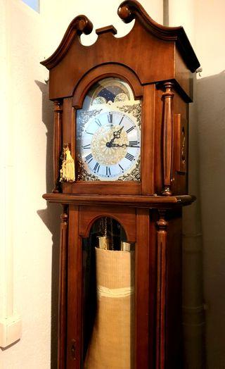 Reloj de Madera Péndulo y Pesas
