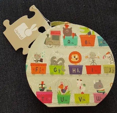 Puzzle gigante JANOD alfabeto tren