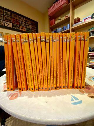 Colección de 49 libros del Barco de Vapor