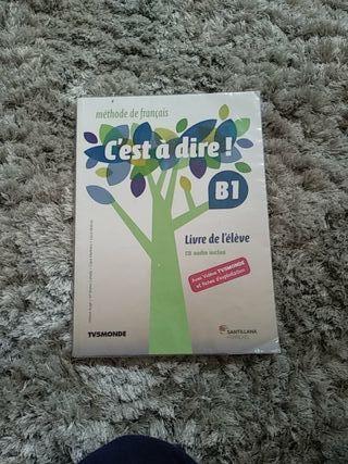 """Libro francés """"C'est à dire!"""" B1"""