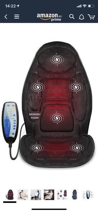 Cojín de asiento de masaje con espuma