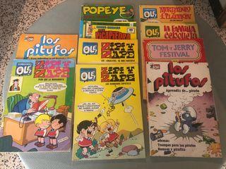 revistas variadas y antiguas