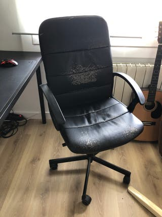 Silla de oficina reclinable