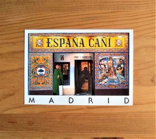 POSTAL MADRID