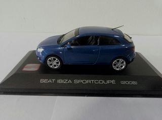 Seat Ibiza MK IV sport coupé a 1/43, con urna