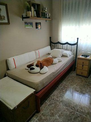 cama canapé con cama debajo