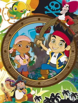 Puzzles CLEMENTONI Jake y los piratas