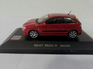 Seat Ibiza MK III a 1/43 con urna.