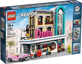 LEGO CREATOR 10260 Restaurante del centro DINNER