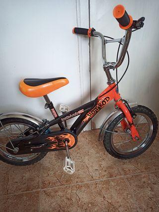 "bicicleta de niño 14"""