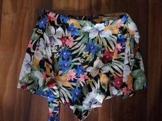 Falda pantalón corto pull&bear