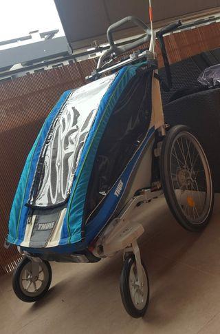 carrito infantil para deporte Thule chariot cx1