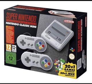 Súper Nintendo mini (Sin abrir)