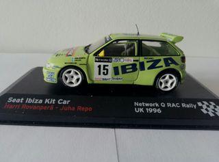 Seat Ibiza MK II Kit Car a 1/43, con urna.