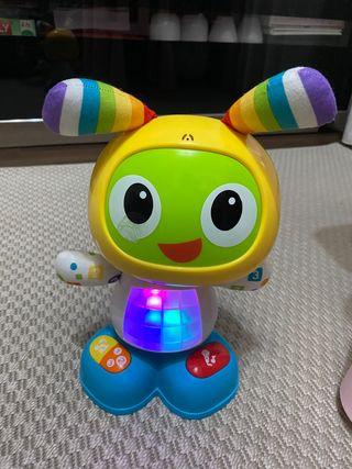 Juguete robot con regalo otro juguete