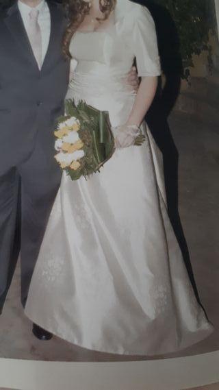 Vestido novia Beatriz Mateos