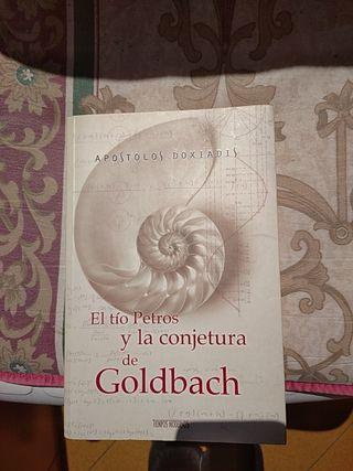 """libro del """" tío Pertros y la conjura de Goldbach"""""""