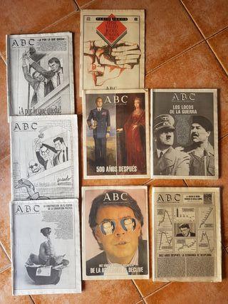 periódicos antiguos: ABC, LA VANGUARDIA