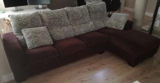 Sofá + chaise longue. Negociable